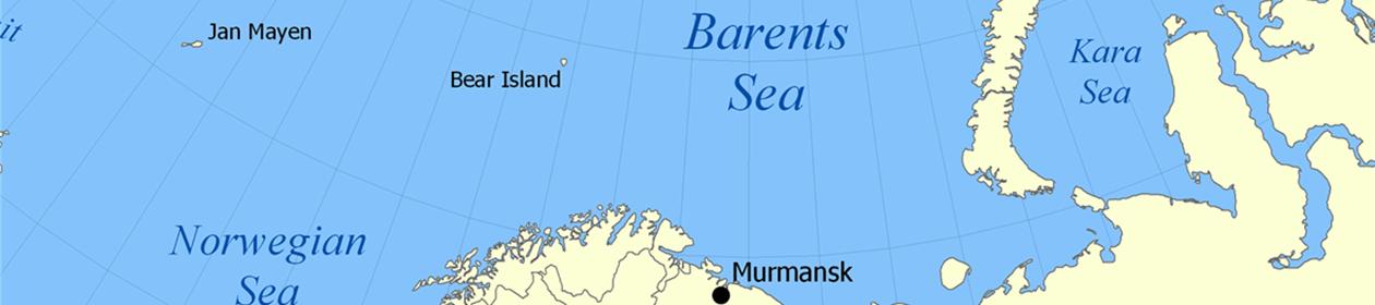 Barentshavet - Kart