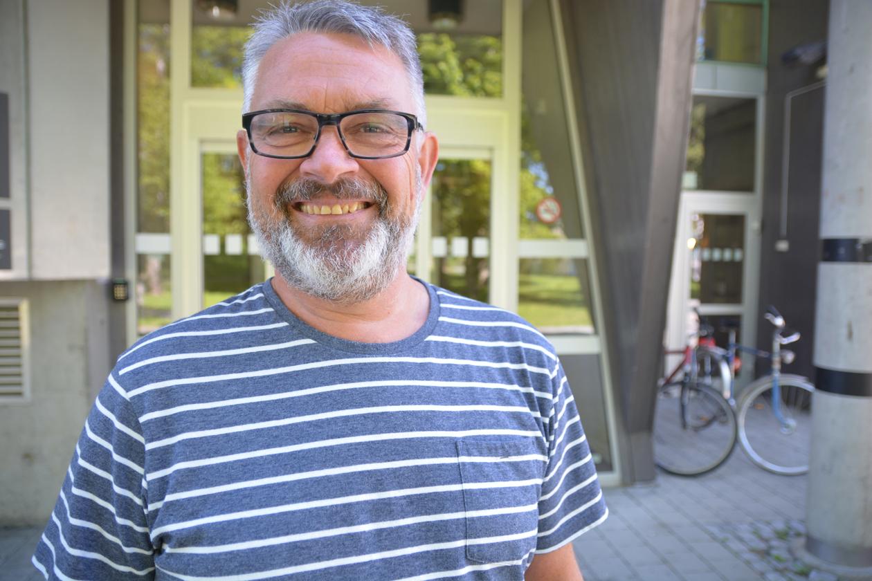 Arve Thorshaug er prosjektleder for universitetsskoleprosjektet.