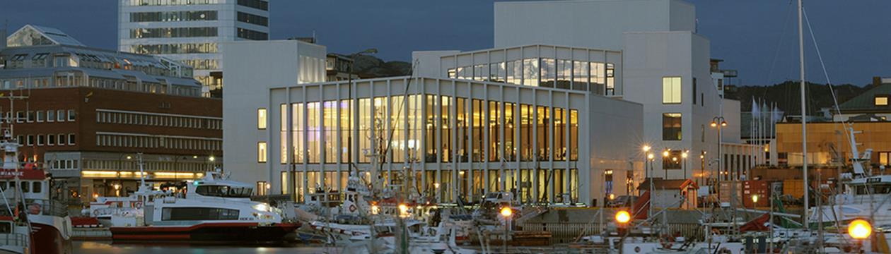 Kulturkvartalet i Bodø. Foto: David Grandorge