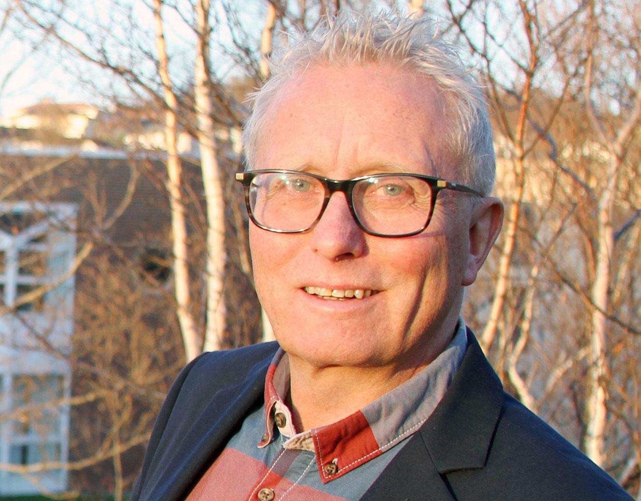 Professor Frode Nilssen er leder for HHNs faggruppe for marked, organisasjon og ledelse. (Foto: Per Jarl Elle)