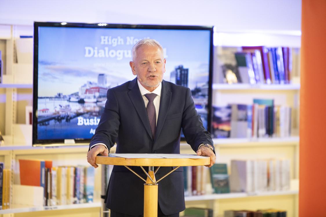 Frode Mellemvik åpner High North Dialogue 2021