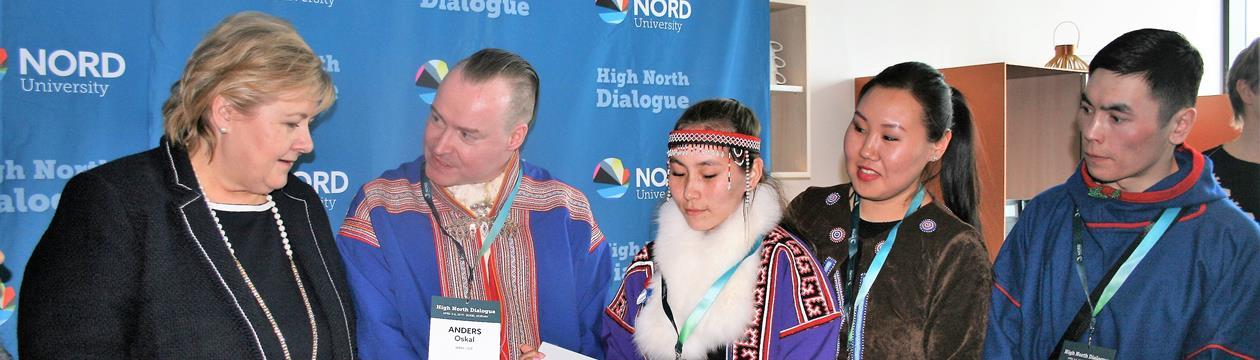 Erna Solberg på High North Dialogue 2019