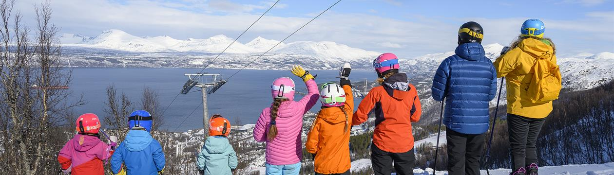 Hva vet de unge i sør om Nord-Norge