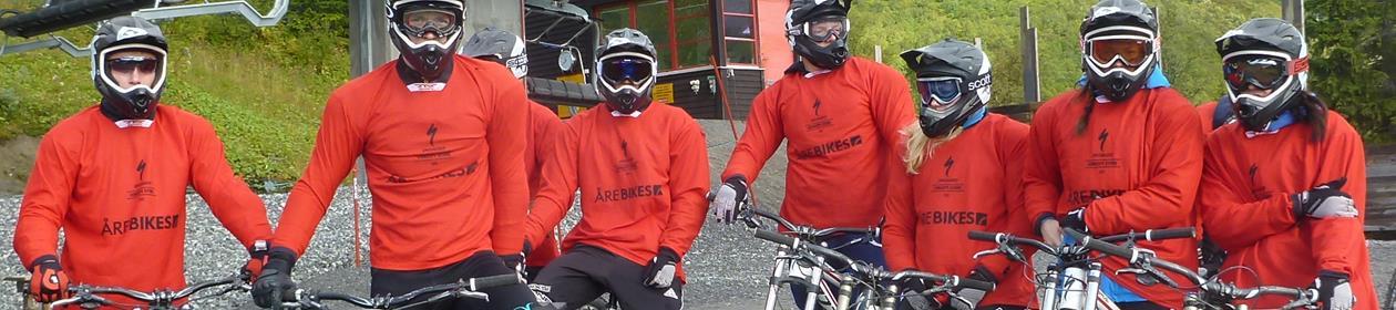 Downhill sykling i Åre!