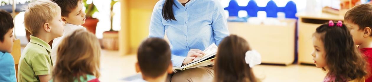 Barnehagelærer i aktivitet